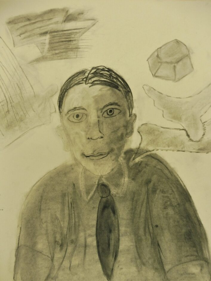 Šíma portrét, 2020, uhel