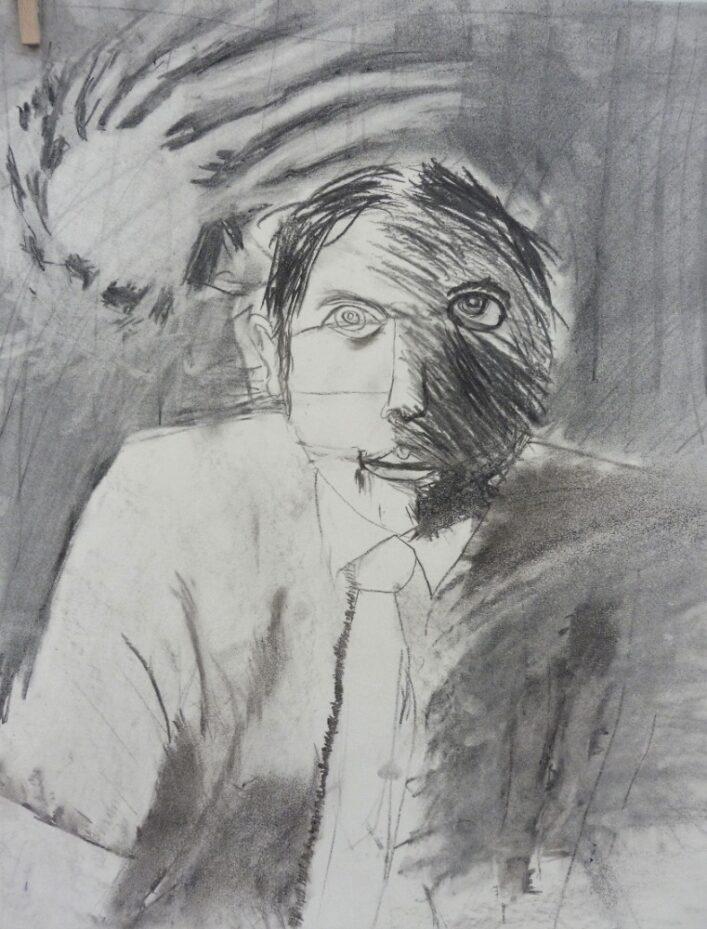 Šíma Portrét, uhel
