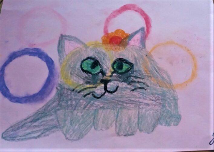 Kočka Julinka Čečilová